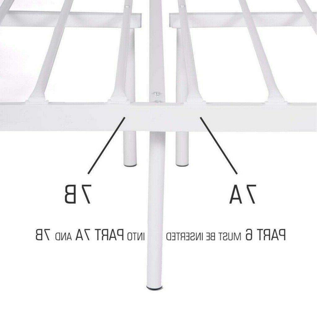 Queen Size Frame Mattress Headboard