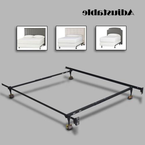 Contemporary Bed Platform Headboard