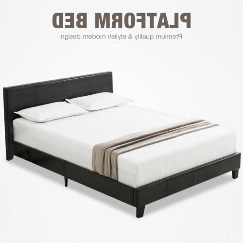 Contemporary Bed Platform Bedroom Furniture