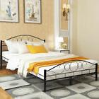 queen slats steel bed frame