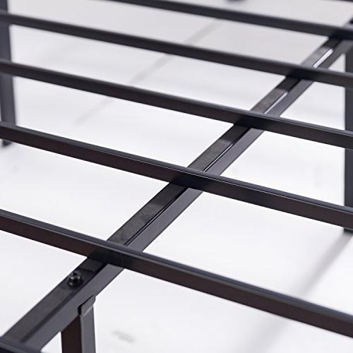 Zinus Luis 16 Inch Metal Platform Bed Foundation Box Spring /