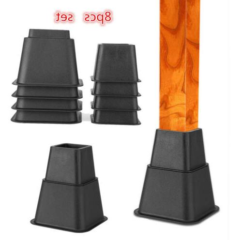 Set Anti-Slip Home Furniture Bed Table Riser Duty