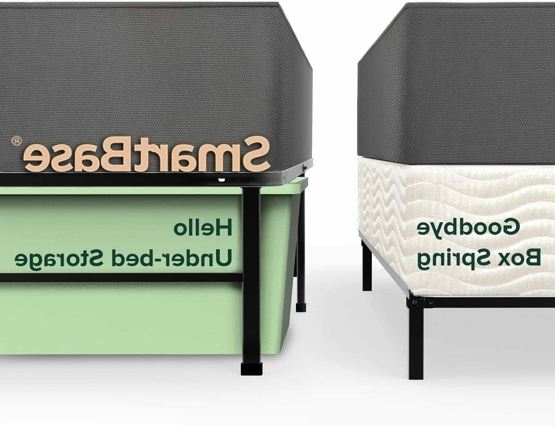 ZINUS METAL SMARTBASE STEEL BED FRAME - BOX SPRING