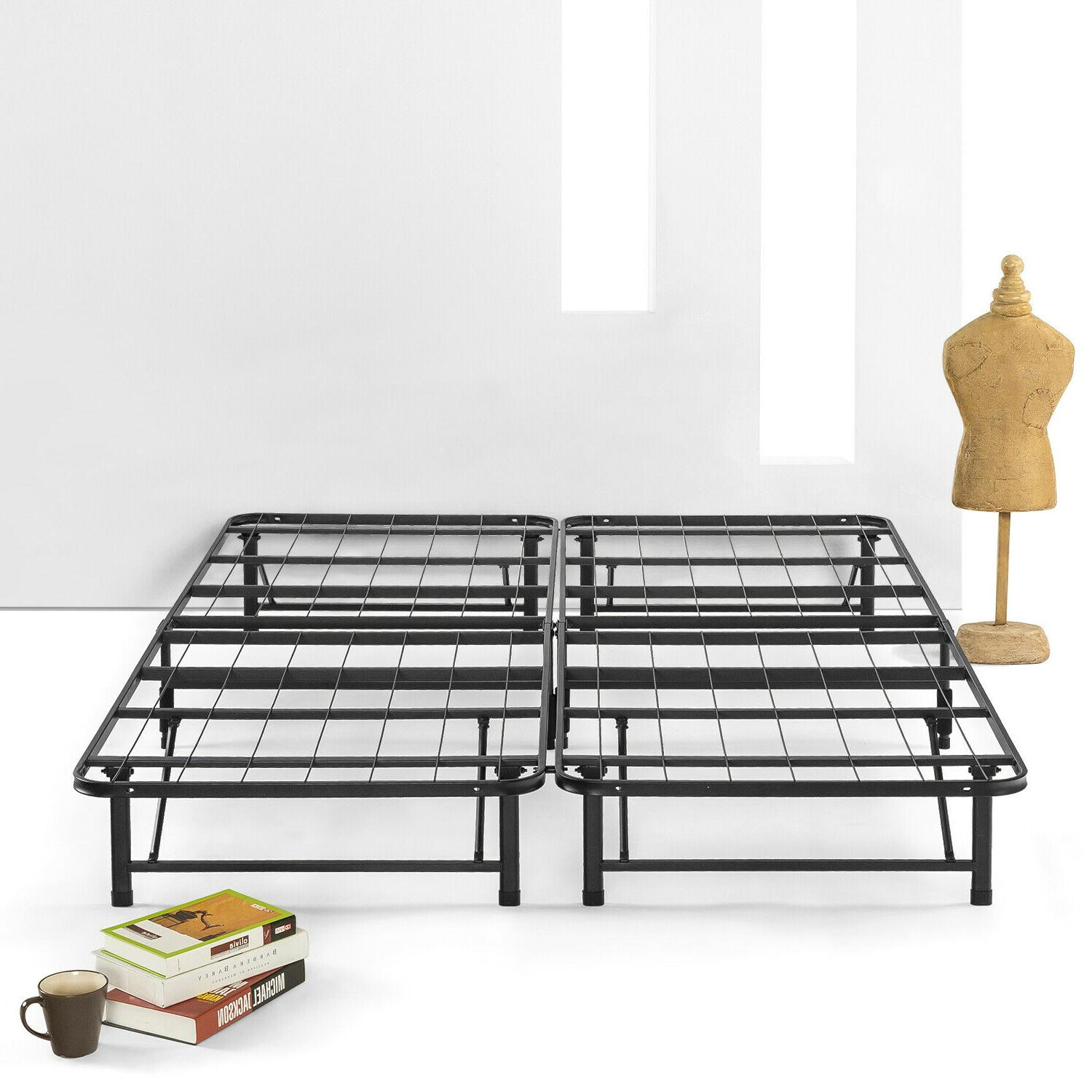 simple and easy bifold metal bed frame