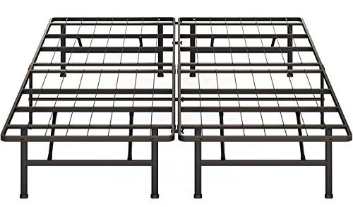 Simple Houseware Size Foundation Bed Frame,
