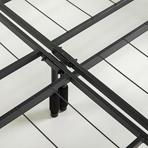 Zinus 12 Inch Mattress Foundation, Frame, Quiet Noise-Free,