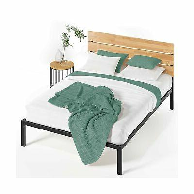 sonoma metal wood platform bed