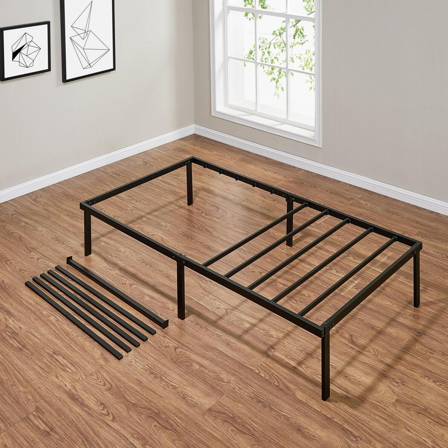 Steel Bed 14 Inches Heavy Duty Furniture