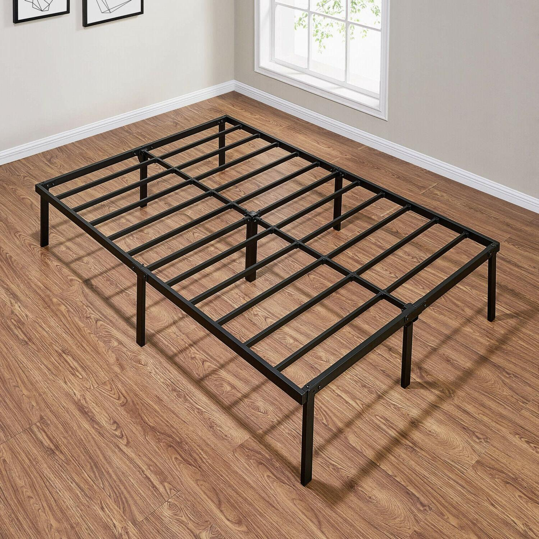 Steel Platform 14 Duty Black Bedroom Furniture