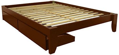 stockholm solid wood bamboo platform