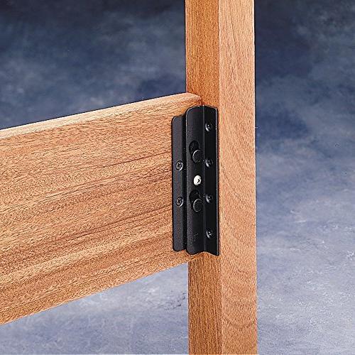 surface mounted keyhole bed rail