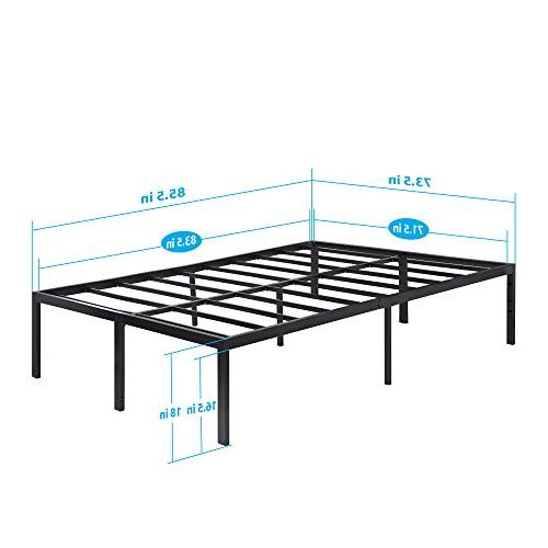 Olee Tall Heavy Duty Slat / Support Bed Frame