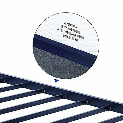 Olee Round Steel Slat Bed Profile