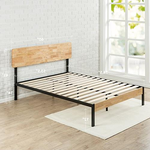 Zinus Olivia and Wood Platform Wood Slat