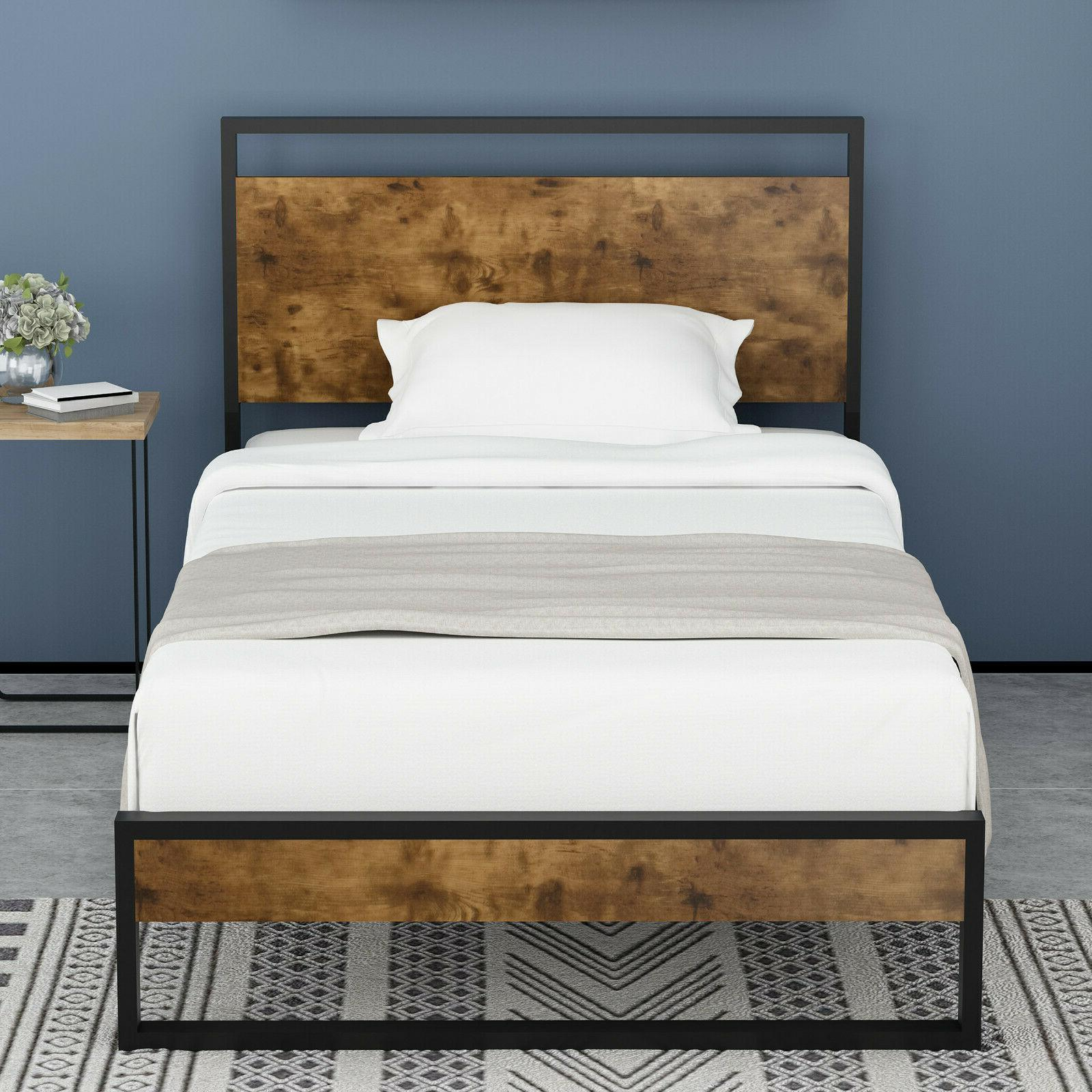 Wood Headboard, High and