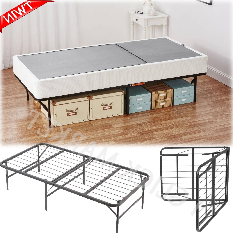 Twin Size Bed Frame Metal Platform Heavy Duty Mattress Found