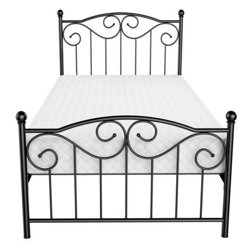 Twin Full Bed Frame Twin Platform