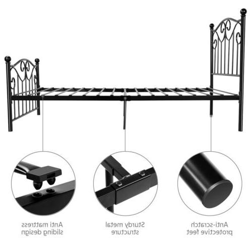 Twin Size Metal Bed Twin Bed