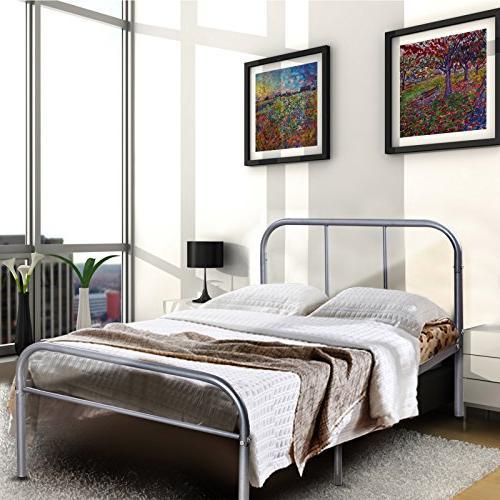 twin metal platform bed frame