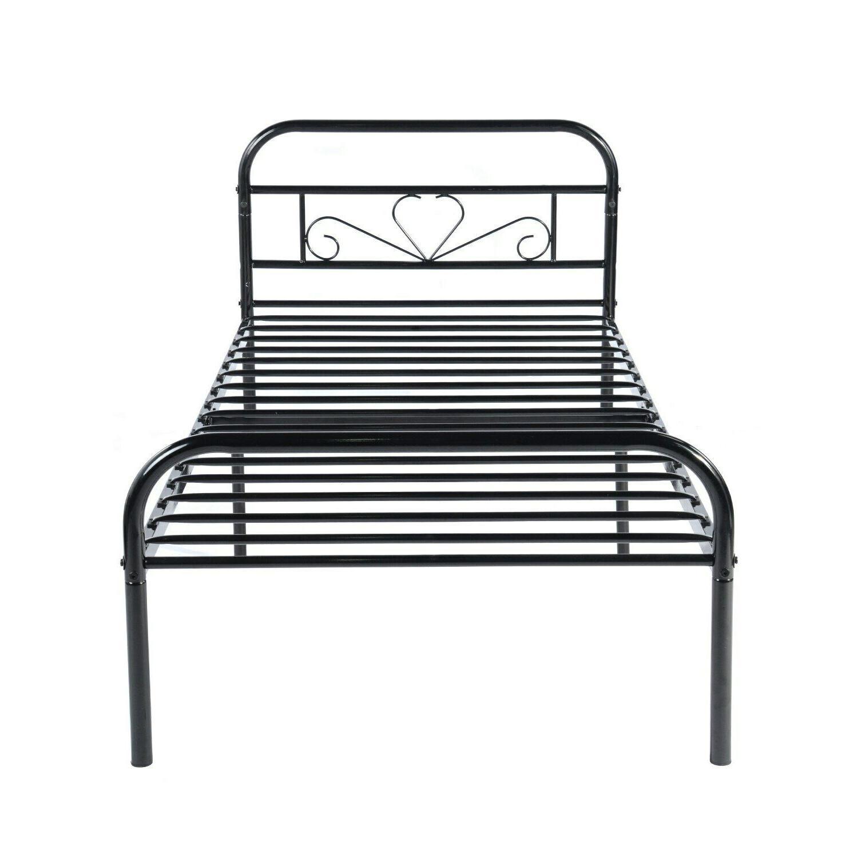 Twin Mattress Platform Bed Frame Assembly