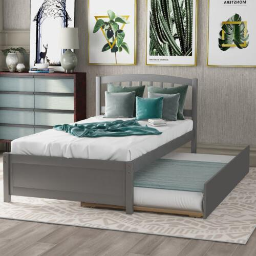 Twin W/Trundle Matress Drawers W/