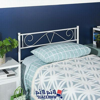 Twin Size Frame Mattress Foundation with