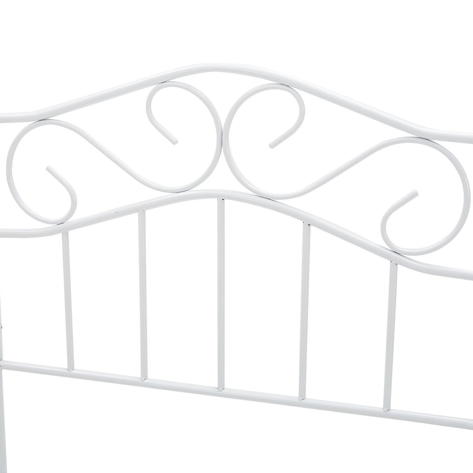 Twin Heavy Metal Bed Headboard Footboard