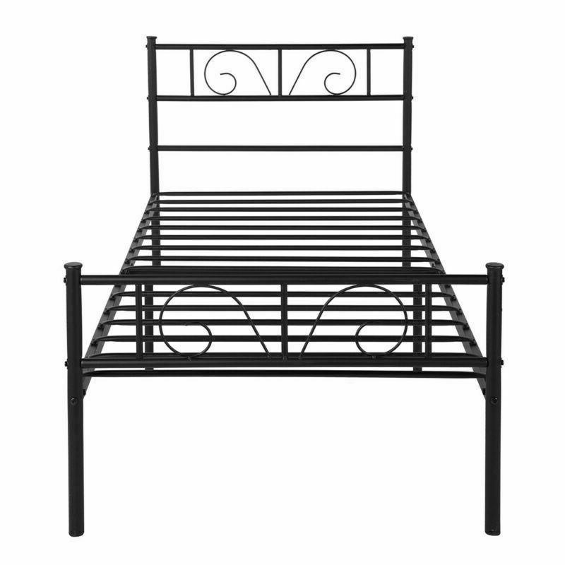 Twin Metal Bed Frame Furniture Legs