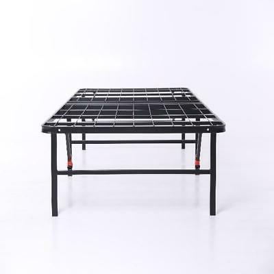 Bed Platform Twin Size Foldable Metal Heavy NEW