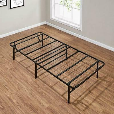 Steel Bed Frame Foldable Mattress Stand Platform High Twin X