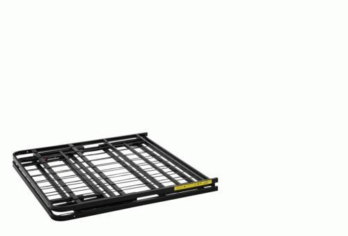 Twin Size Frame Foldable Platform Black
