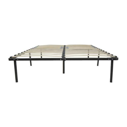 Twin Wood Iron Bed Frame Foundation