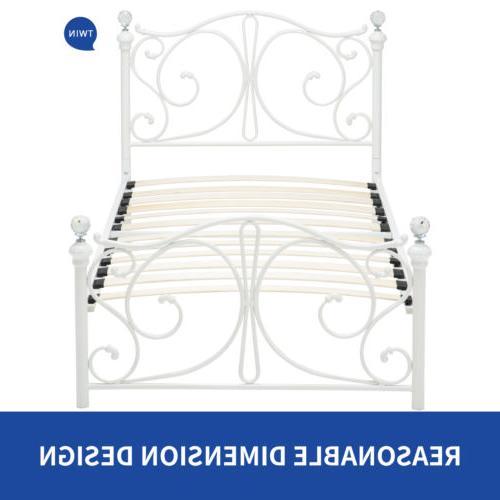 Twin Size Frame Headboard Girls Bedroom Furniture