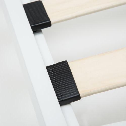 Twin Size Bed Frame Finial Headboard Footboard Girls