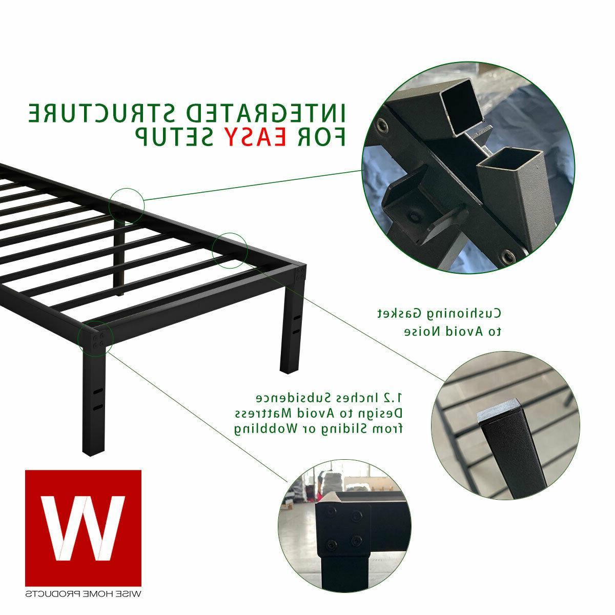 Full Frame - Platform Beds - Height