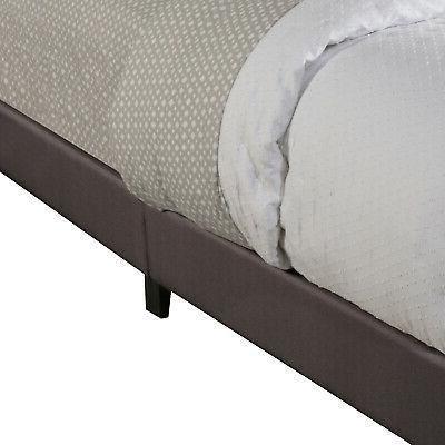 Upholstered Full Size Platform Headboard