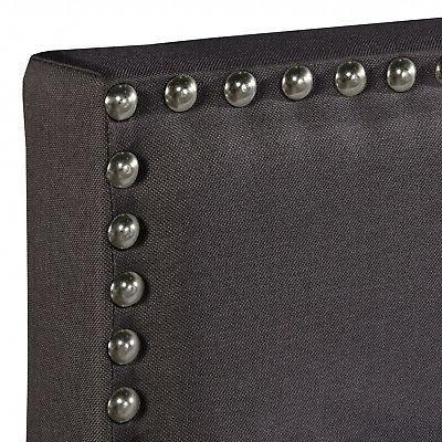 Queen Upholstered Frame Platform
