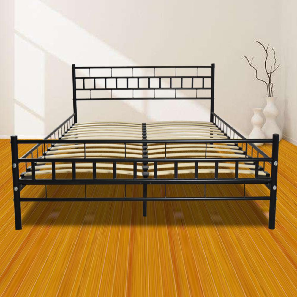 King Size <font><b>Bed</b></font> with Slat Dropshipping