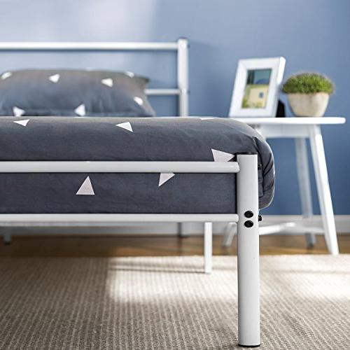 Zinus White Frame Footboard, Full
