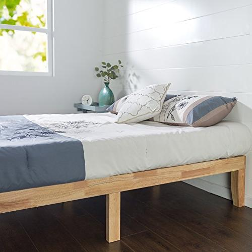 Zinus Inch Wood Bed No
