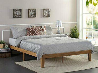 Zinus Alexia 12 Inch Wood Platform Bed / No Box Spring Neede