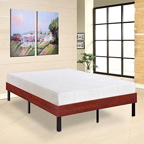 Olee Bed Frame/Steel 14''H, Classic Full