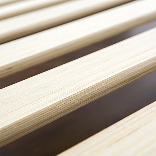 Zinus Button Tufted Platform Wooden