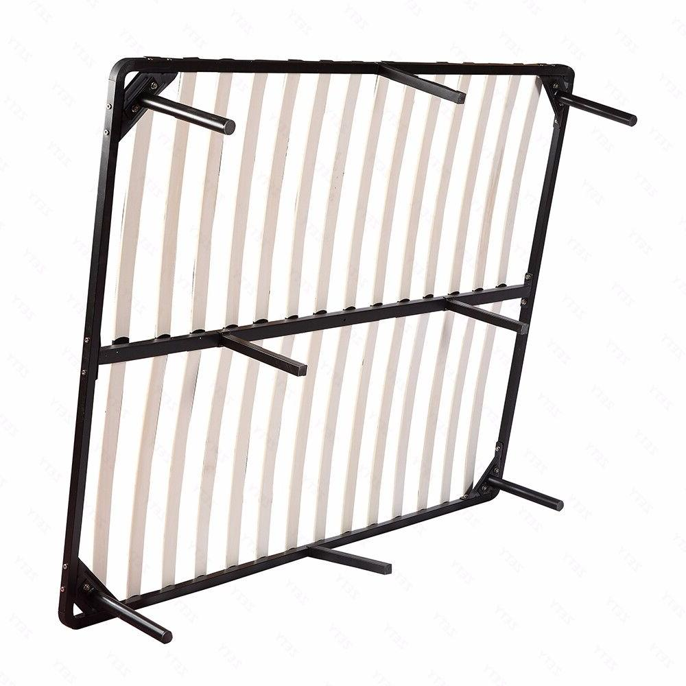 Wood Metal Platform Bed Mattress Full Bedroom