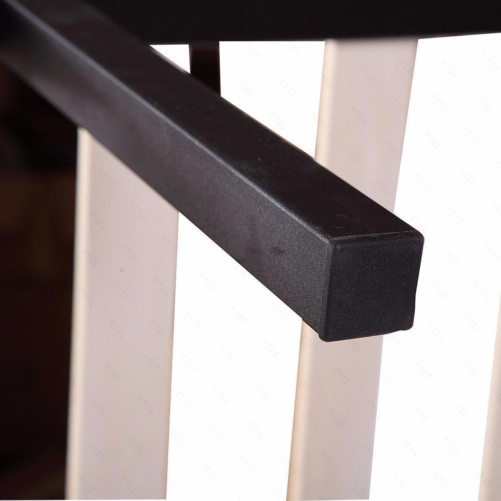 Wood Metal Platform Bed Mattress Full