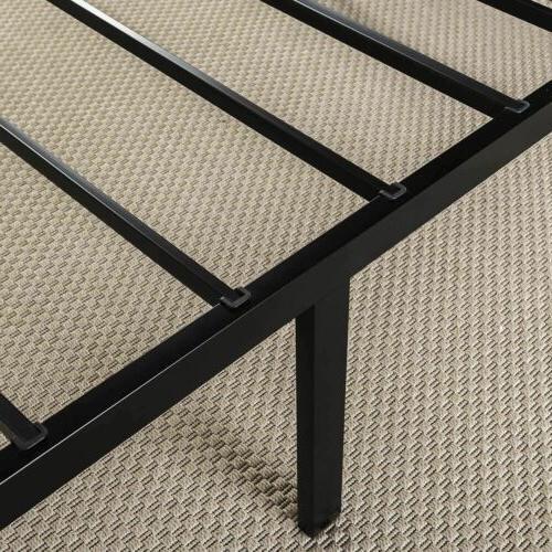 Zinus Abel 14 Metal Bed Frame / Mattress