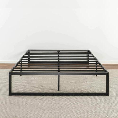 Zinus 14 Metal Bed / Mattress No Box Sprin
