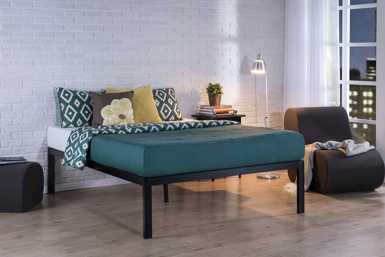 Zinus Lorrick Quick Snap TM 18 Inch Platform Bed Frame / Mat