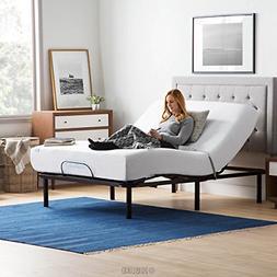 LUCID L100 Adjustable Bed Base - High Quality Steel Frame -