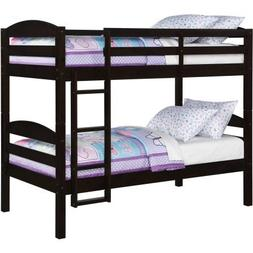 Better Homes and Gardens Leighton Twin Over Twin Wood Bunk B